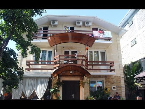 Гостевой дом Нана на ул. Одоевского в Лазаревском. Lazarevskoe SOCHI RUSSIA