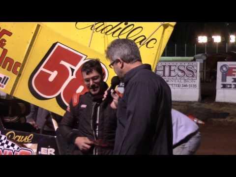 Susquehanna Speedway Super Sportsman Victory Lane 4-30-16