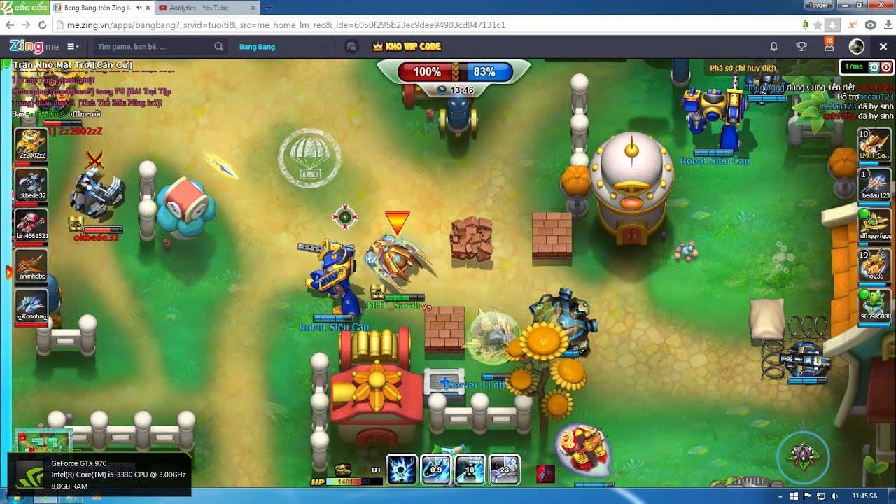 [BangBang] Tank Pikachu part 9: Phá nhà cùng Pikachu (Webgame Zingme)