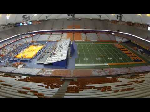 Carrier Dome Time Lapse Nov 11 12 2016