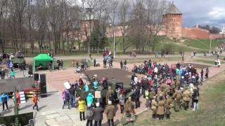 Военная техника. 9 мая, День Победы. Кремль, Великий Новгород