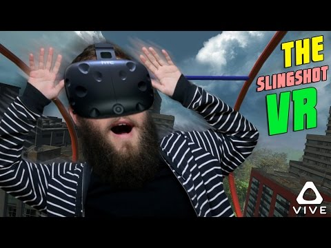 THIS RIDE MAKES YOU SICK! - SLINGSHOT VR (HTC VIVE)