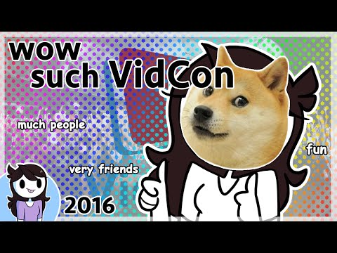Thumbnail: Vidcon fun times wow so fun excitement 10/10 would vidcon again