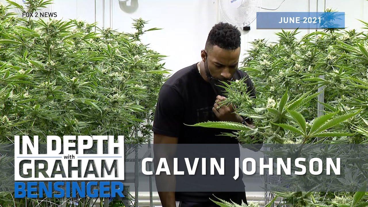 Calvin Johnson: Highlighting the healing powers of cannabis