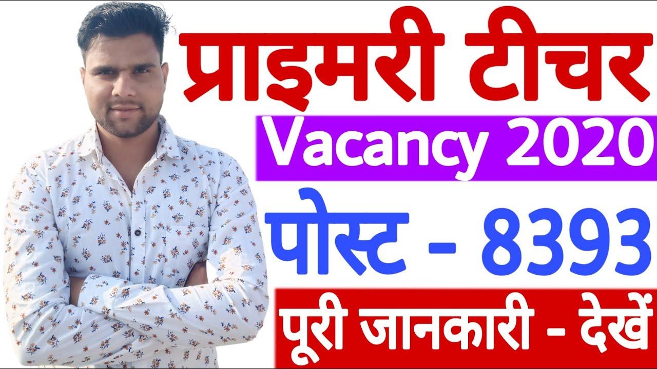 Punjab Pre Primary Teacher Vacancy 2020 -21 Out   Punjab Pre Primary Teacher Recruitment 2020