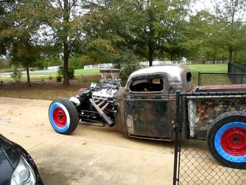 1936 Dodge Truck Rat Rod 1936 Chevy Rat Rod Truck First
