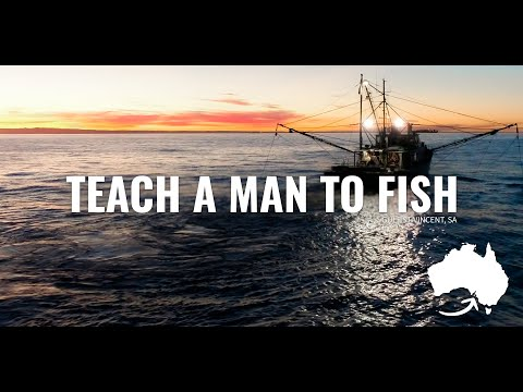 Teach A Man To Fish.
