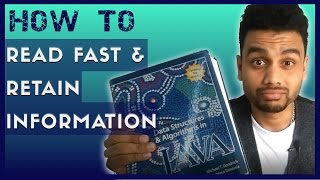 How To Read Faster And Retain More Information - FOUR TIPS & TRICK