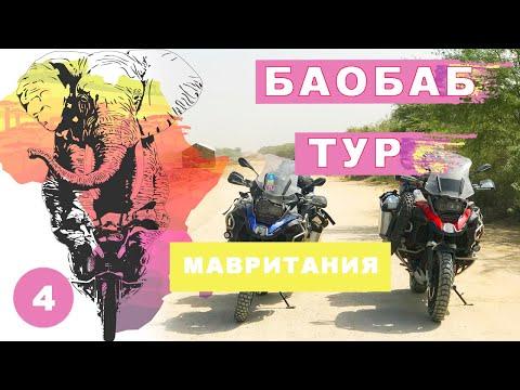 Баобаб тур. Мавритания. Мое большое путешествие на мотоцикле по Африке #4