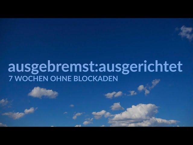 spiel.räume (5) - ausgebremst:ausgerichtet. Impuls mit Pfarrerin Heike Springhart Pforzheim