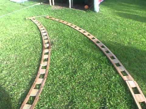 Kory vigas curvas de madera laminada youtube for Madera laminada