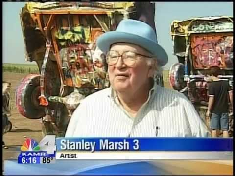 Cadillac Ranch - Amarillo, TX Stanley Marsh 3s LAST INTERVIEW! Ant Farm