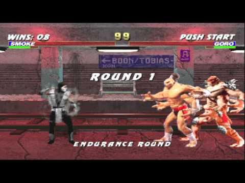 Mortal Kombat Trilogy PC Gameplay Smoke Ninja