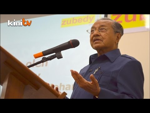 Mahathir: Malays are lazy, dishonest