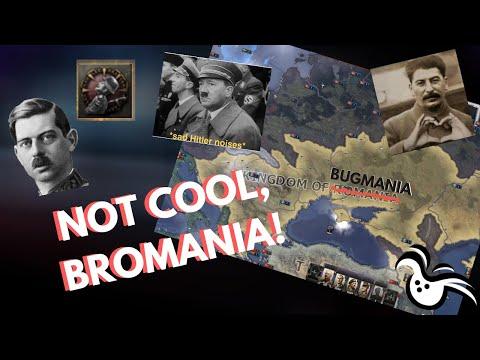 PARADOX DIDNT FINISH ROMANIA! NOT COOL, BROMANIA | HOI IV ACHIEVEMENT HUNTING |