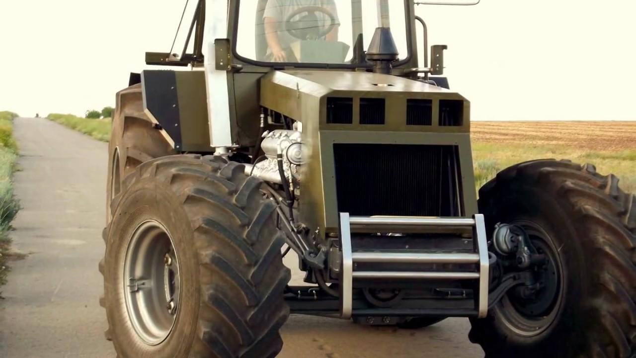 Самодельный трактор БИЗОН! Получилось как всегда круто!!!