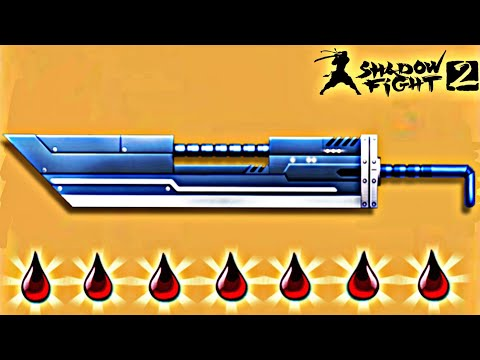 Shadow Fight 2 New Bleeding Weapon Titan Giant Sword - The Most Powerful Weapon