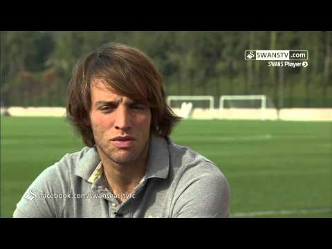 Swansea City Video: Michu Interview Part 1