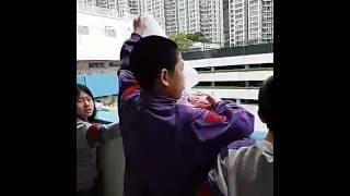 佛教中華康山學校 科技探究日 1月9日 雞蛋降落傘第一次測試