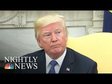 Donald Trump Proposes IQ Test After Sec. Rex Tillerson Calls Him 'Moron'   NBC Nightly News