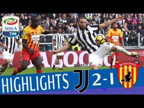 Juventus - Benevento 2 - 1 - Highlights - Giornata 12 - Serie A TIM 2017/18