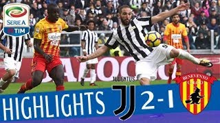 Juventus - Benevento 2-1 - Highlights - Giornata 12 - Serie A TIM 2017/18