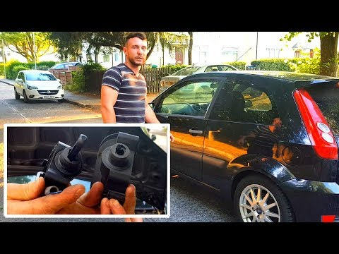 Ford Fiesta How To Remove And Replace Clutch Master Cylinder/ Broken Plastic