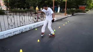 Фигурное катание на роликовых коньках