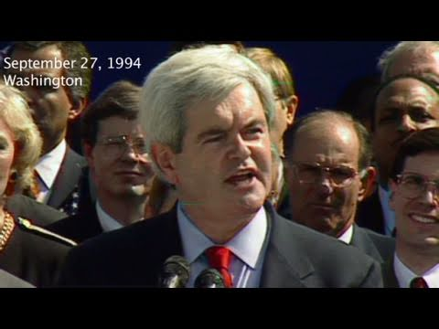 CNN: 1994, Gingrich's 'Contract with America'