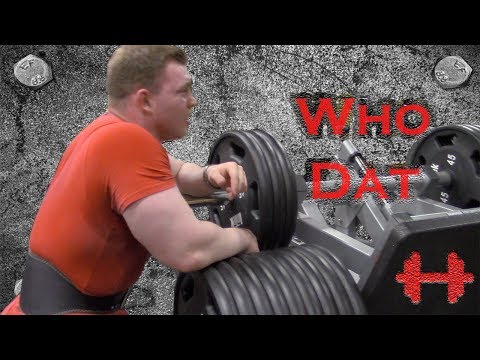 "Bodybuilding Training: ""Who Dat"" (Leg Workout) (2017)"