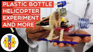 Turn a Bottle into A Helicopter | Amazing Experiments And More | ab 360