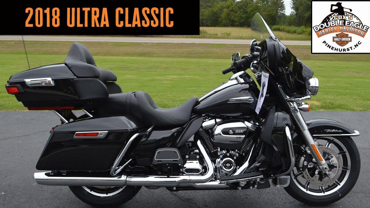 2018 Harley-Davidson Ultra Classic FLHTCU Black Tempest ...