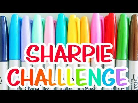 SHARPIE CHALLENGE!!!