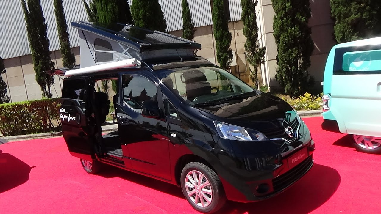2017 nissan evalia camper exterior and interior automobile barcelona 2017 youtube. Black Bedroom Furniture Sets. Home Design Ideas