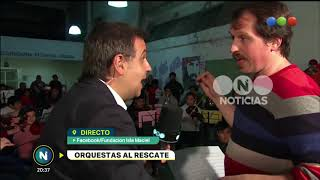 Orquestas al rescate- Telefe Noticias