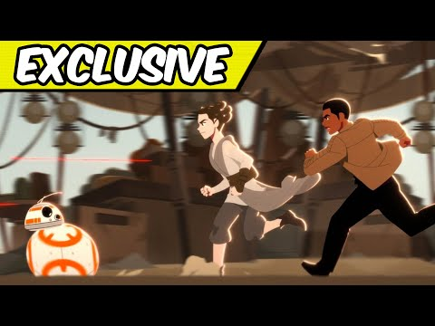 BB-8 Saves the Day in Star Wars Galaxy of Adventures (Exclusive)