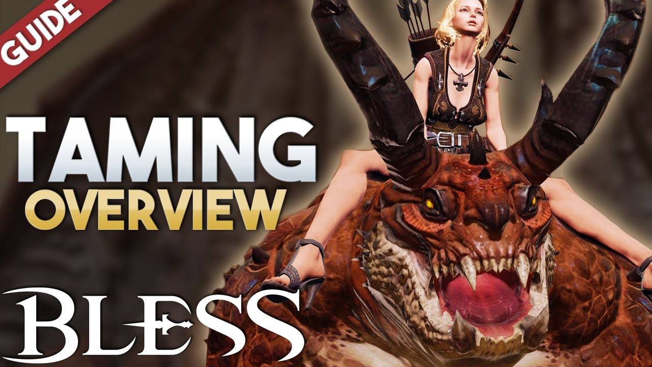 Bless Online | Taming Guide (Mounts, Pets, Minions, Slaves Review) Pre-Rebuild Project Process
