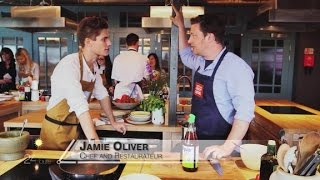 Cooking up a storm with London top chef