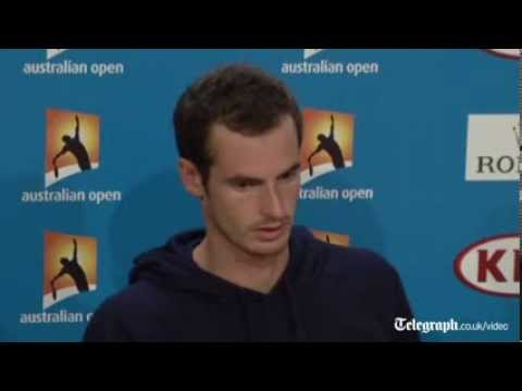 Andy Murray 'glad to win and get off humid court'
