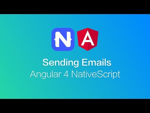 NativeScript Email with Angular - YouTube