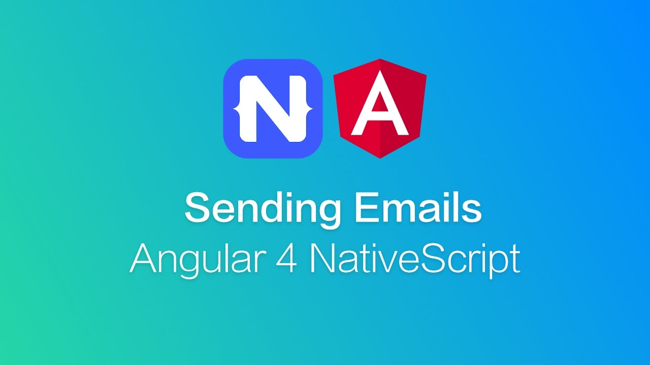 NativeScript Email with Angular