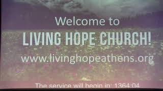 "Living Hope Church Athens | ""Sovereign Salvation - Romans 9:1-18"" 