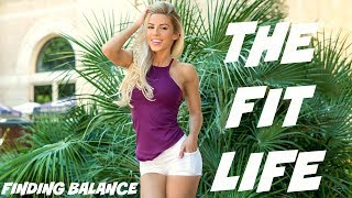 The Fit Life | Back/Bicep Workout | Girly Gains