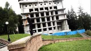 NewPSpeed - Summer 2012 (город курорт Кисловодск) [ acrostreet and parkour ]
