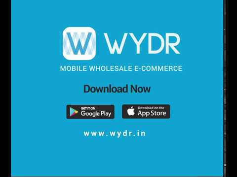 Wydr Wholesale E-Commerce - Wholesale Buying ka Naya Tareeka