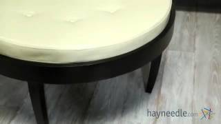 Citation Coffee Table Ottoman With Removable Cushion - Product Review Video