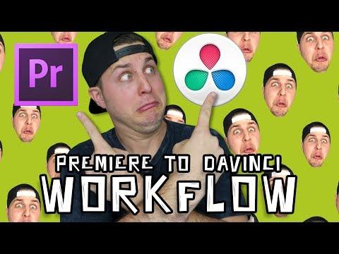Adobe Premiere To DaVinci Resolve 14 Round Trip Workflow