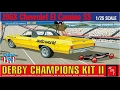 How to Build the 1968 EL Camino Derby Champs II 1-25 Scale AMT Model Kit #1018 Review