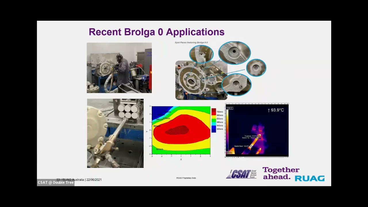 3. Neil Matthews, RUAG: Mobile Supersonic Particle Deposition System
