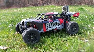 Gambar cover Thunder Tiger Bushmaster 1/8 Brushless RC Car - Full Test Drive with Actioncam
